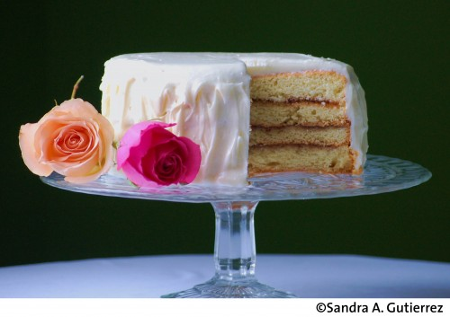 Guava Layer Cake with Cream Cheese Frosting